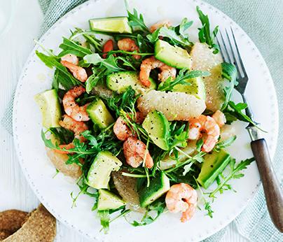 Prawn Salad - 404 x 346